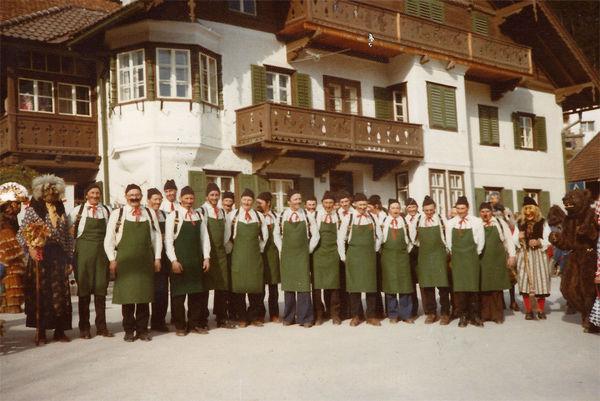 Brauchtumsgruppe Fritzens - Schellenschlager